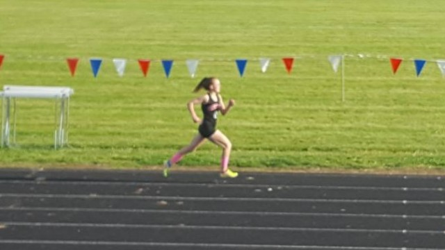 katie running